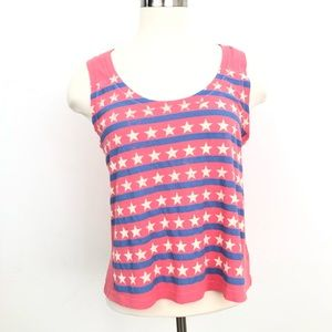 NWT Heritage 1981 Top Star Striped Faded
